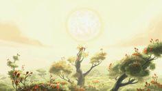 Endormi depuis des millénaires entre les racines de l'arbre Yggdrasil, le loup Fenrir est réveillé par les rayons du soleil. Enragé, il se libère de ses liens et escalade l'arbre. Arrivé au sommet, il s'attaque au soleil, sans se rendre compte que derrière lui, un héros apparait.  Film réalisé comme court métrage d'ouverture pour le Festival International du Film d'Animation (FIFA) ...