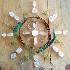 Crystal Grid, Meraki, Incense, Dream Catcher, Washer Necklace, Herbalism, House Design, Crystals, Woodland