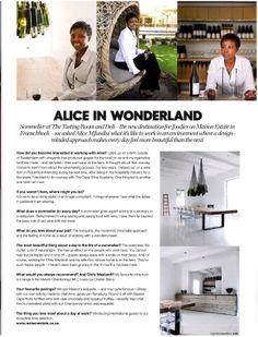 ELLE Decoration South Africa // editorial environmental portrait