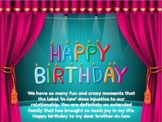 Birthday Cards Brother In Law ~ 30 birthday wishes for brother in law with images facebook