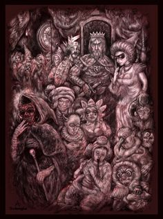 Bo Alvarsson - E A Poe - The Masque of the Red Death Classic Literature, Illustration Art, Death, Red, Classic Books