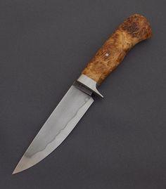 Lovecký nůž- 19191 s hamonem a nádor javoru | Mozolič Knives