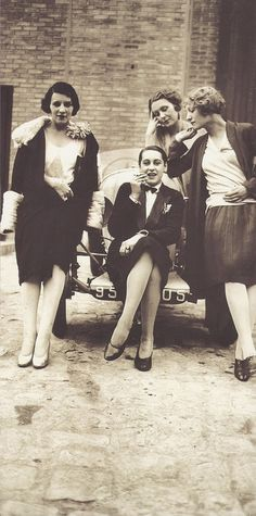 Vintage Bad Girls…Les Garçonnes   Photographer: Jacques Henri Lartigue  Paris, April 1928