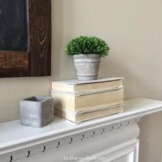 No matter if you have a Contemporary Farmhouse or Traditional ,,,these DIY Linner Wrapped Books will make welcome accessories in your home. Stop over at Beckham and Belle and they will share their DIY!