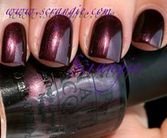 Scrangie: OPI Holland Collection for Spring/Summer 2012 Swatches and Review