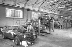 Autodelta factory late sixties Milan