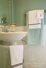 Image result for white subway tiles with grey green paint