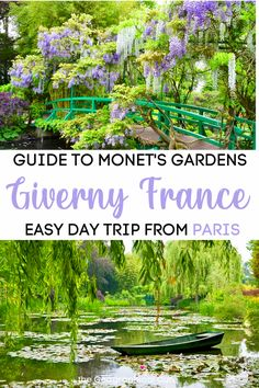 Guide to Monet's Giverny, His Impressionistic Garden Masterpiece Monaco, Claude Monet House, Travel Tips For Europe, Travel Destinations, D Day Beach, Monet Garden Giverny, Giverny France, Day Trip From Paris, Normandy France