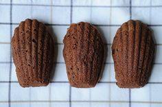 Chocolate-Orange Madeleine Cookies