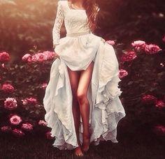 white dress ♥