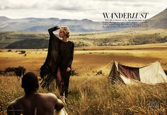 """""""Wanderlust"""" - Marloes Horst by Will Davidson"""
