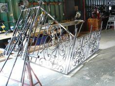 Wrought Iron Railing Fabrication