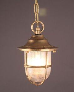 Outdoor Pendant Light, Vintage Retro Lighting