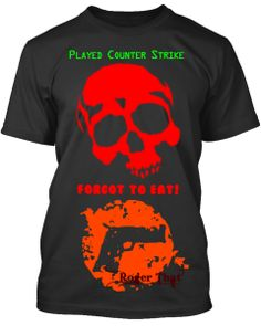 Counter-Strike Fan? Buy these Designer Tees. Limited offer period.