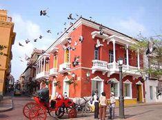 Santa Teresa Square @Cartagena de Indias