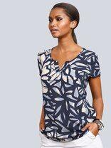 Alba Moda Blusenshirt in tollem, floralem Print Alba Moda, Shirt Bluse, Outfit, Shirts, Mens Tops, Clothes, Women, Products, Fashion