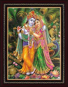 Avercart Lord Krishna / Shri Krishna with Radha / Symbol…