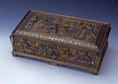 Bolt box / set composed of crossbow bolts and box Kaphahn, Franz (execution) Dresden. 1570.