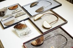 Slideshow:'CC, the necklace' by Claudia Comte by Nicholas… Photo Galleries, Place Card Holders, Jewelry, Jewlery, Jewerly, Schmuck, Jewels, Jewelery, Fine Jewelry