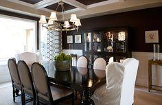 Coto de Caza I - eclectic - Dining Room - Orange County - Blackband Design