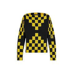 Products by Louis Vuitton: Checkerboard Jumper Louis Vuitton Store, Louis Vuitton Official Website, Fashion Brand, Knitwear, Jumper, Ready To Wear, Cashmere, Sweaters, Runway Fashion