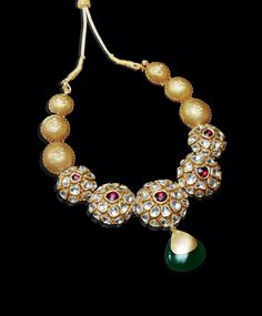 India Jewelry, Temple Jewellery, Gold Jewelry, Jewelry Box, Ancient Jewelry, Antique Jewelry, Wedding Jewelry, Jewelry Collection, Beaded Necklace