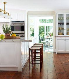 hardwood floors. love the wide planks