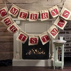 Sooez Merry Christmas Banner, Large Merry Christmas Jute Burlap Banners Christmas Decorations Xmas Party Decoration Home Holiday Decor,Rustic Style Christmas Banner Burlap Christmas Decorations, Merry Christmas Banner, Farmhouse Christmas Decor, Xmas Ornaments, Rustic Christmas, Simple Christmas, Christmas Crafts, Christmas Garlands, Christmas Pizza