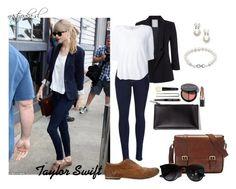"""Taylor Swift"" by nastyonka-sl ❤ liked on Polyvore featuring White Stuff, FOSSIL, rag & bone, Splendid, Marsèll, Ray-Ban, Bobbi Brown Cosmetics, Jewel Exclusive and Judith Jack"
