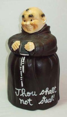 Monk cookie jar
