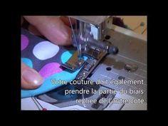 Vidéos gratuites techniques de base couture - Poser un biais Baby Couture, Couture Sewing, Sewing Hacks, Sewing Projects, Sewing Tips, Techniques Couture, How To Make, Steps Youtube, Guide