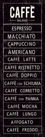 italian coffee sign. i'd love one of these in my kitchen =)
