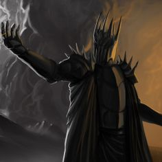 Sauron The Lord of Rings fantasy artwork