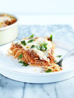 Gluten Free Spaghetti Pie | Gluten Free on a Shoestring