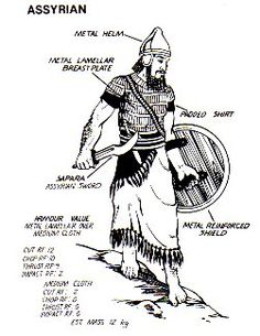 Assyrian warrior
