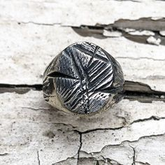 This ring is one of a kind and is handcarved in our Dublin studio. This ring is sterling silver and weighs approx Please write the size required in order notes when checking out Oxidized Silver, Sterling Silver, Claddagh Rings, Signet Ring, Bespoke, Hand Carved, Unique Jewelry, Etsy, Vintage