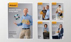 Continental Employer Branding - Cases - Brands | by Peter Schmidt Group Employer Branding, Corporate Design, Branding Design, Psg, Personal Branding, Schmidt, Mailer Design, Team Pictures, Employee Engagement