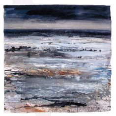 CAROLYN SAXBY MIXED MEDIA TEXTILE ART: St. Ives - a persistent thread
