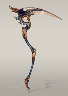ArtStation – Scythe design, Zaiisey (Ana Viana) – Art Drawing Tips Ninja Weapons, Sci Fi Weapons, Weapon Concept Art, Fantasy Sword, Fantasy Weapons, Fantasy Art, Espada Anime, Arte Sci Fi, Armas Ninja