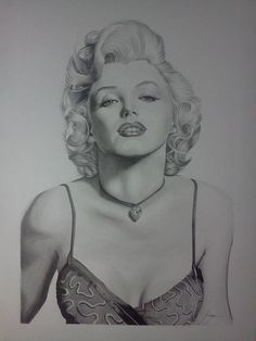 Marilyn Monroe by Tiagoquintino | This image first pinned to Marilyn Monroe Art board, here: http://pinterest.com/fairbanksgrafix/marilyn-monroe-art/ || #Art #MarilynMonroe