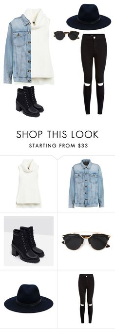 """Untitled #15"" by molly-mahaffey on Polyvore featuring White House Black Market, Current/Elliott, Zara, Christian Dior, rag & bone, women's clothing, women, female, woman and misses"