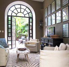 Peaceful Sitting Area in Casa Pocito Vacation Rental in Merida Yucatan Mexico