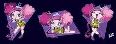 Eep Opp Ork AH AH by thweatted.deviantart.com on @deviantART Monster Art, Monster High, Novi Stars, Star Clothing, Lol Dolls, Star Art, Vintage Dolls, Girly Girl, Fashion Dolls