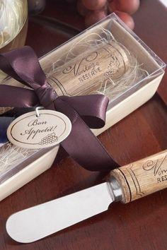 {wine themed favors}