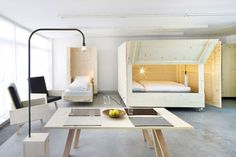 Atelierhouse | Leibal -- Atelierhouse is a minimalist house located in Bolzano, Italy, designed by Harry Thaler. Description from pinterest.com. I searched for this on bing.com/images