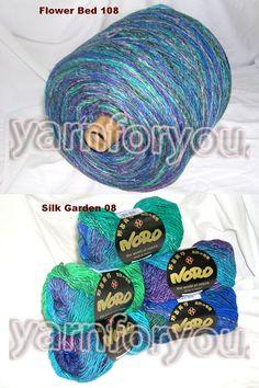 Пряжа для вязания NORO на бобинах
