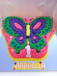 Butterfly birthday cake template printable google search for Butterfly birthday cake template printable