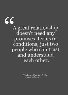 Relationships need