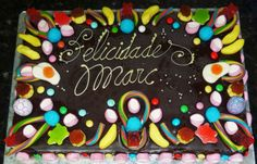 Crear para Endulzar: Pastel de Golosinas  Candies Cake
