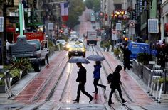 Storm brings strong winds, outages, slick roads to Bay Area - San Francisco Chronicle Yosemite National Park, National Parks, Powell Street, Water Scarcity, Sanctuary City, Water Pollution, San Francisco Chronicle, Water Management, Nature Artists